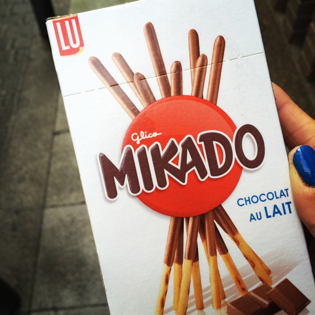 I've also found one of my favorite Korean snacks in European form.